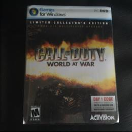 CALL OF DUTY: WORLD AT WAR LIMITED COLLECTOR'S EDITION (US) by treyarch