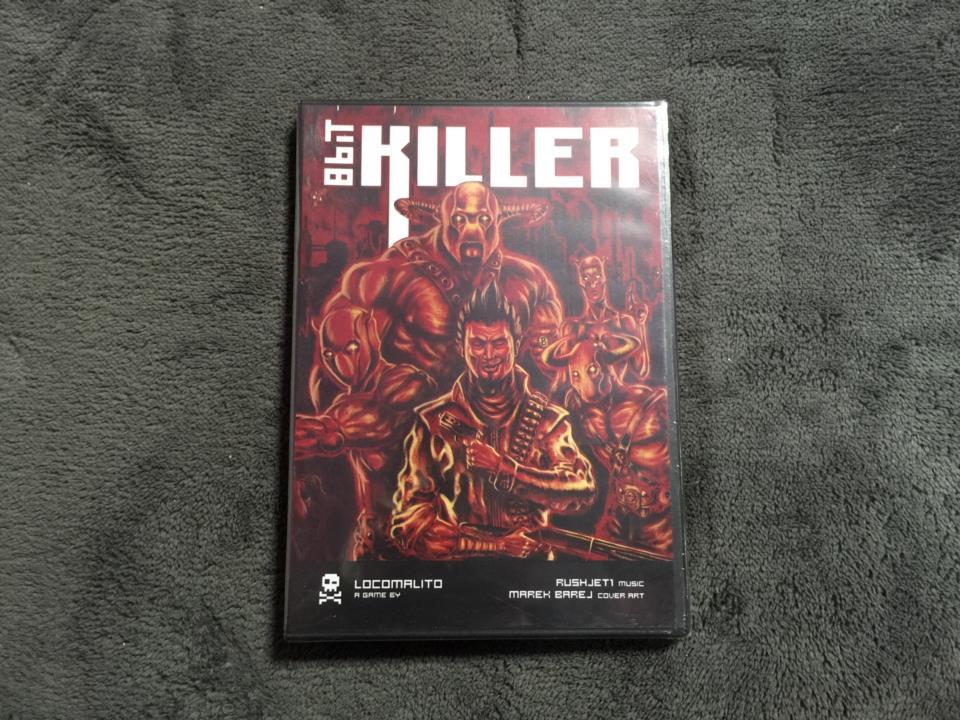 8bit KILLER (Spain) by LOCOMALITO