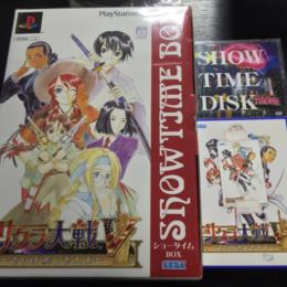 SAKURA WARS V SHOWTIME BOX + SHOWTIME DISK + Telephone Card (Japan) by RED