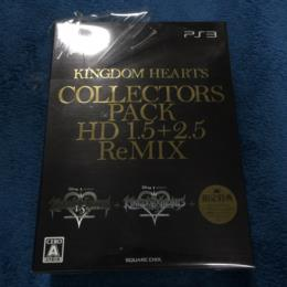 KINGDOM HEARTS COLLECTORS PACK HD 1.5+2.5 ReMIX (Japan) by SQUARE