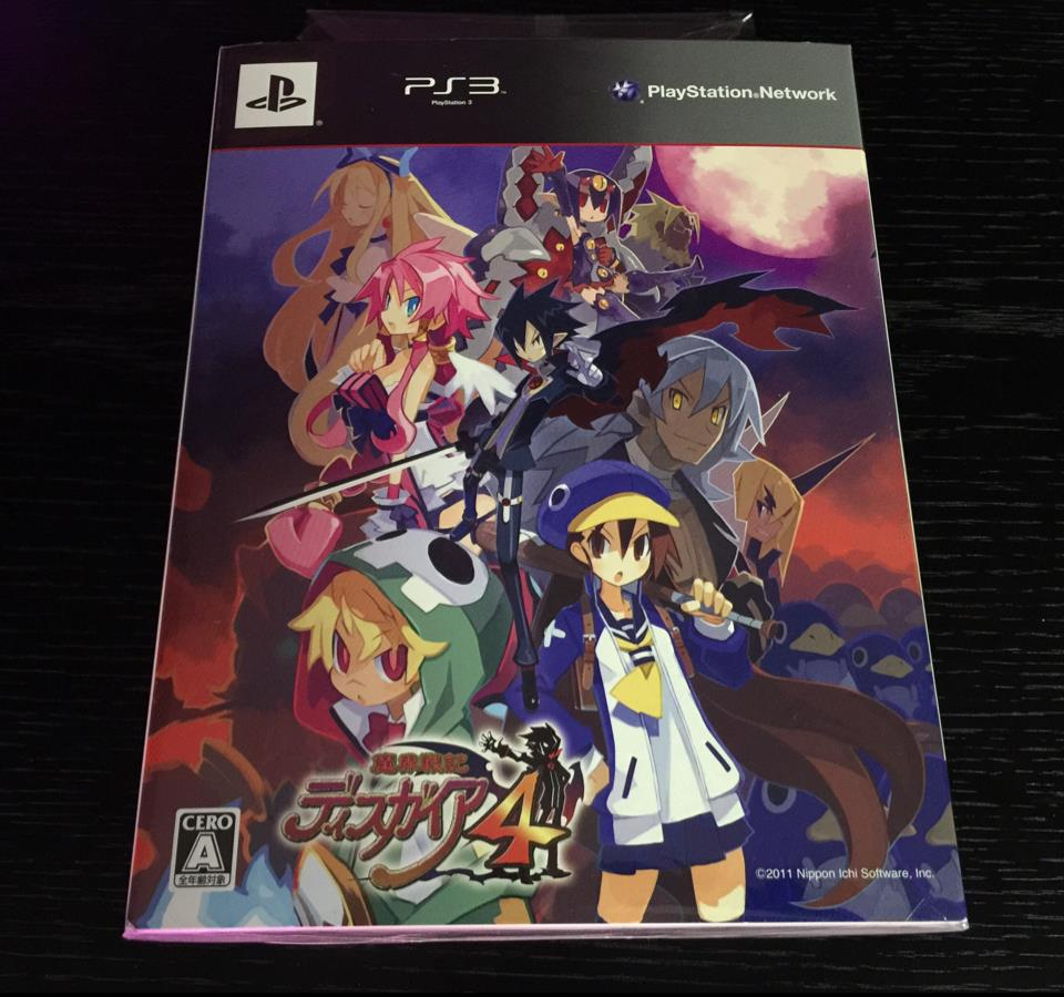 DISGAEA 4 Limited Edition (Japan) by NIPPON ICHI SOFTWARE