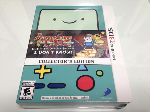 ADVENTURE TIME: Explore the Dungeon Because I DON'T KNOW COLLECTOR'S EDITION (US) by WayForward