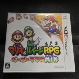 Mario & Luigi RPG: PAPER MARIO MIX (Japan) by AlphaDream
