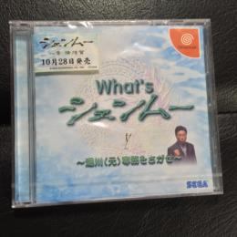 What's Shenmue (Japan) by SEGA