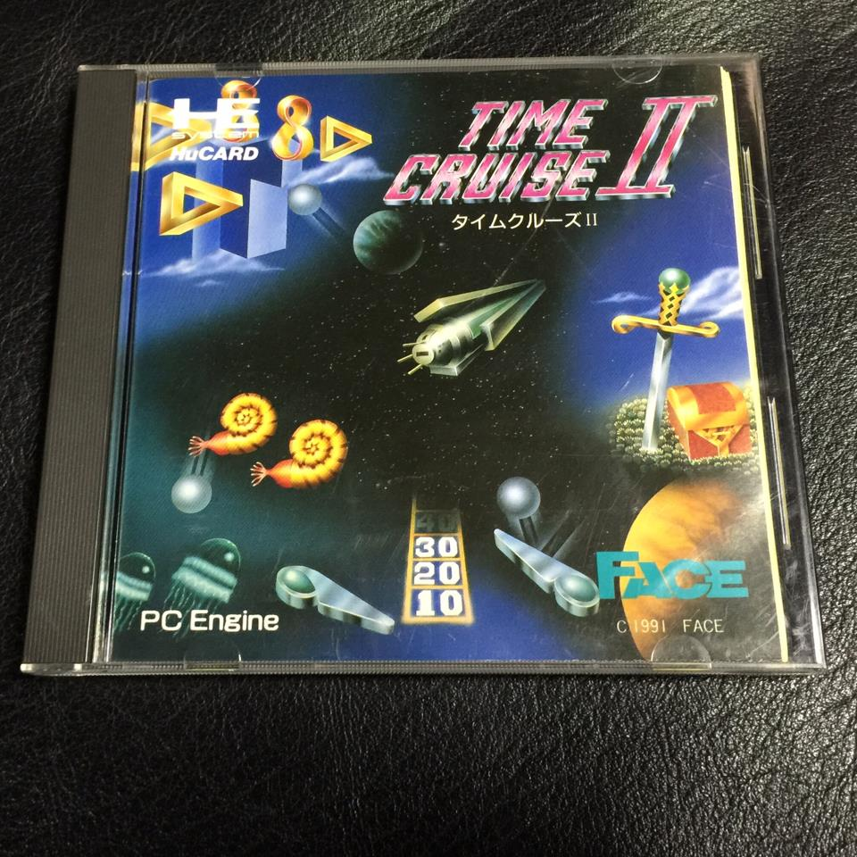 TIME CRUISE II (Japan) by FACE (Pinball Used) collected in