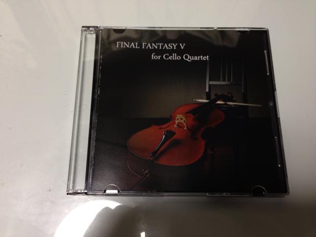 FINAL FANTASY V for Cello Quartet (Japan)