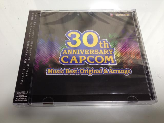 30TH ANNIVERSARY CAPCOM Music Best:Original & Arrange (Japan)