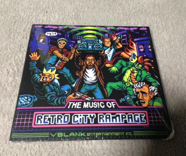 THE MUSIC OF RETRO CITY RAMPAGE (US)