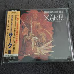 Xak III ORIGINAL GAME SOUND TRACK (Japan)