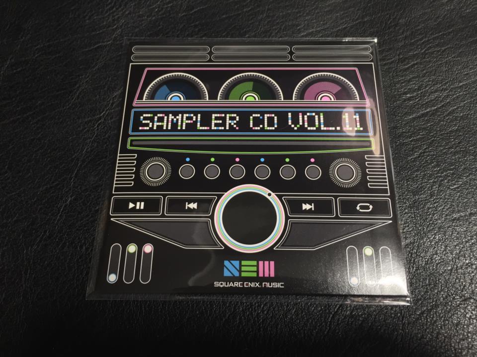 SQUARE ENIX SAMPLER CD vol. 11 (Japan)