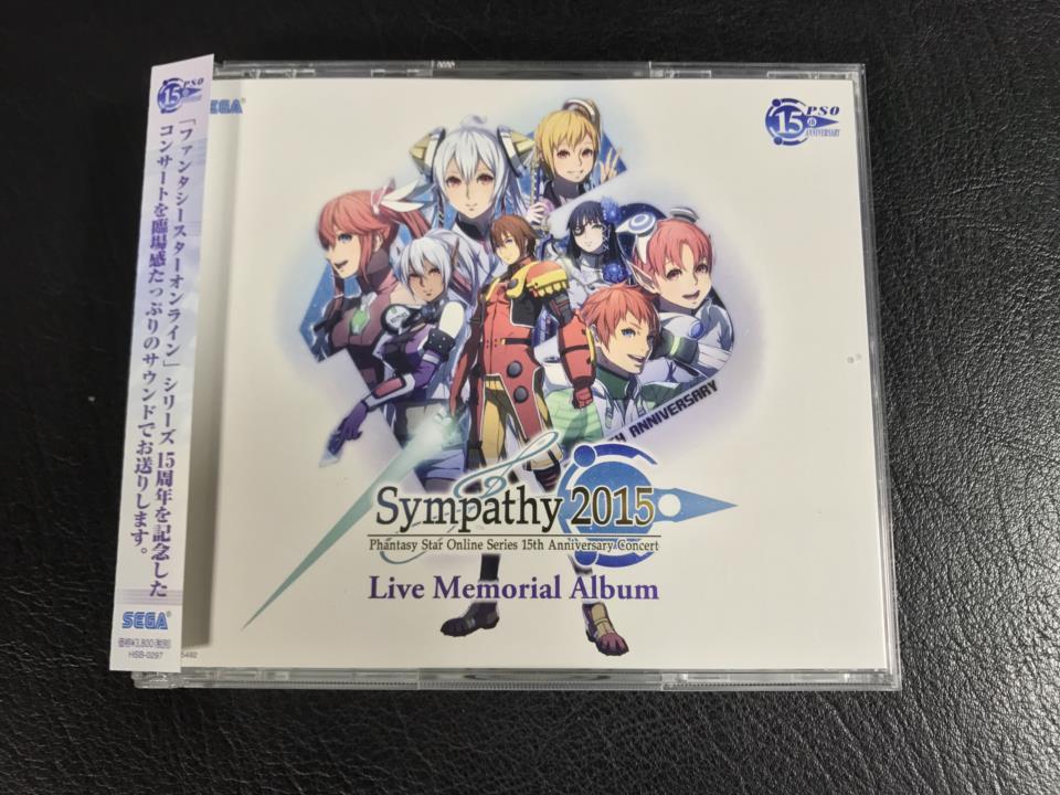 Sympathy 2015 Live Memorial Album (Japan)