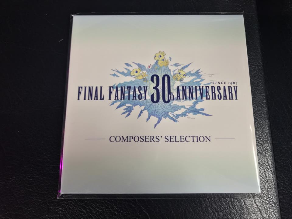 FINAL FANTASY 30th ANNIVERSARY COMPOSERS' SELECTION (Japan)