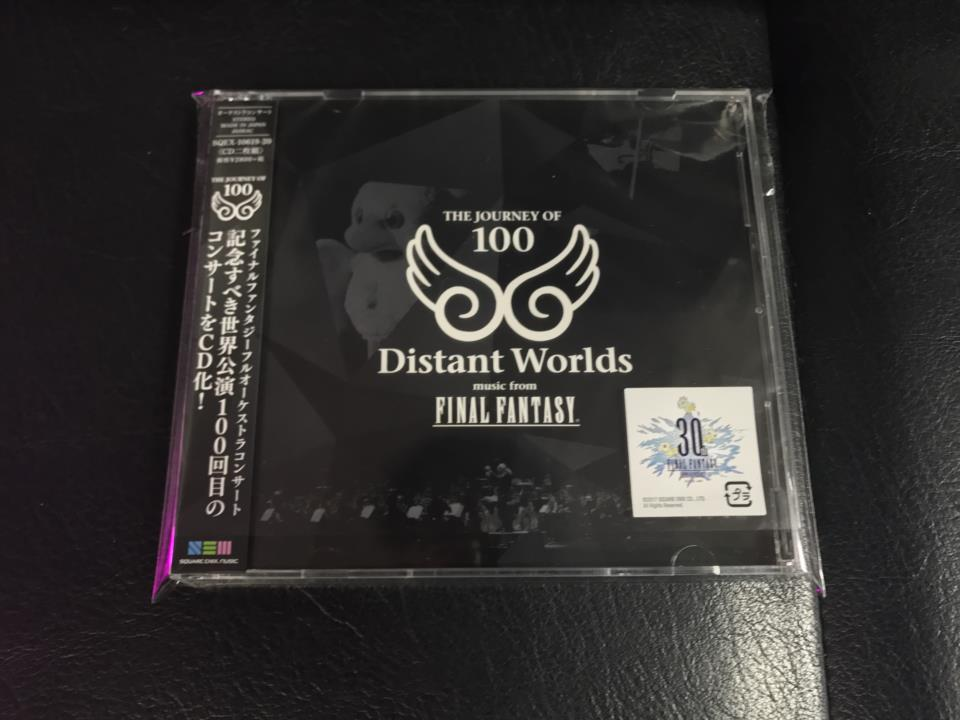 Distant Worlds: THE JOURNEY OF 100 (Japan)