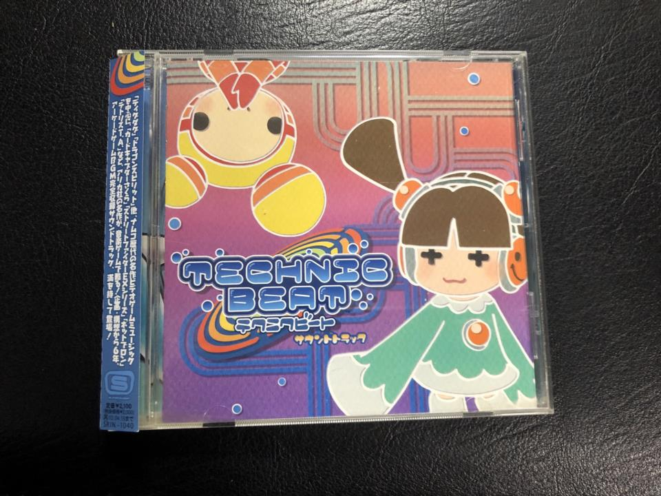 TECHNIC BEAT Soundtrack (Japan)