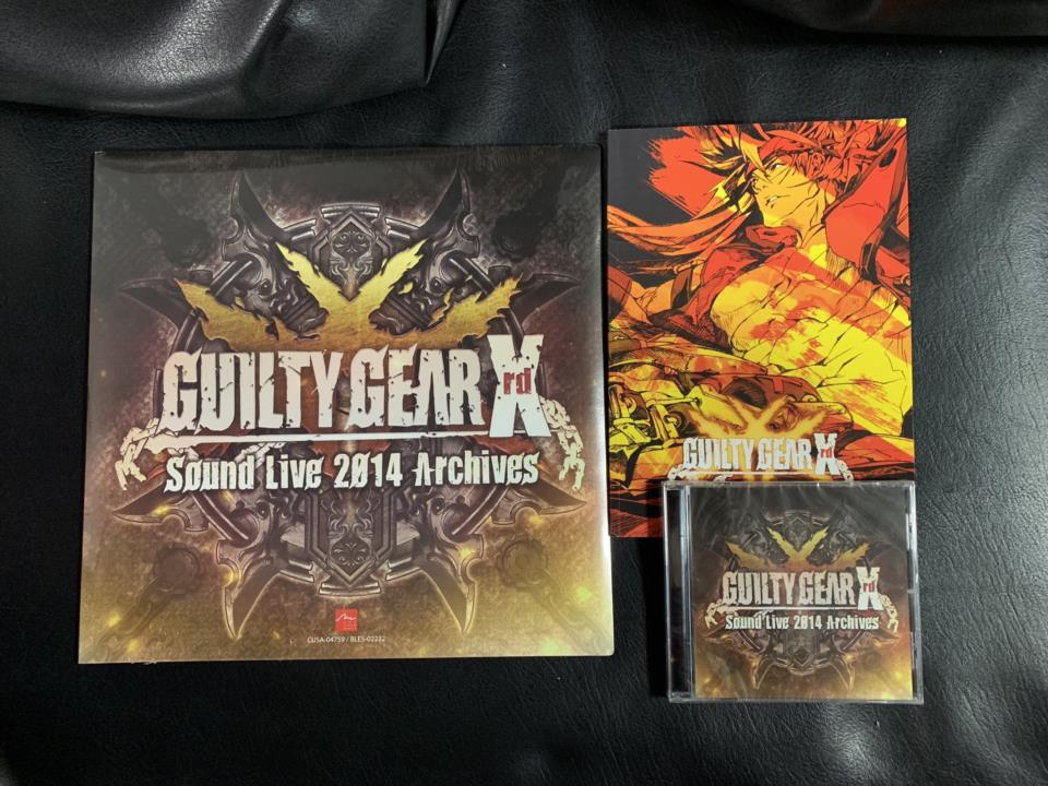 GUILTY GEAR Xrd Sound Live 2014 Archives (EU)