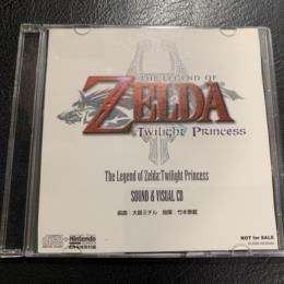 THE LEGEND OF ZELDA: Twilight Princess SOUND & VISUAL CD (Japan)