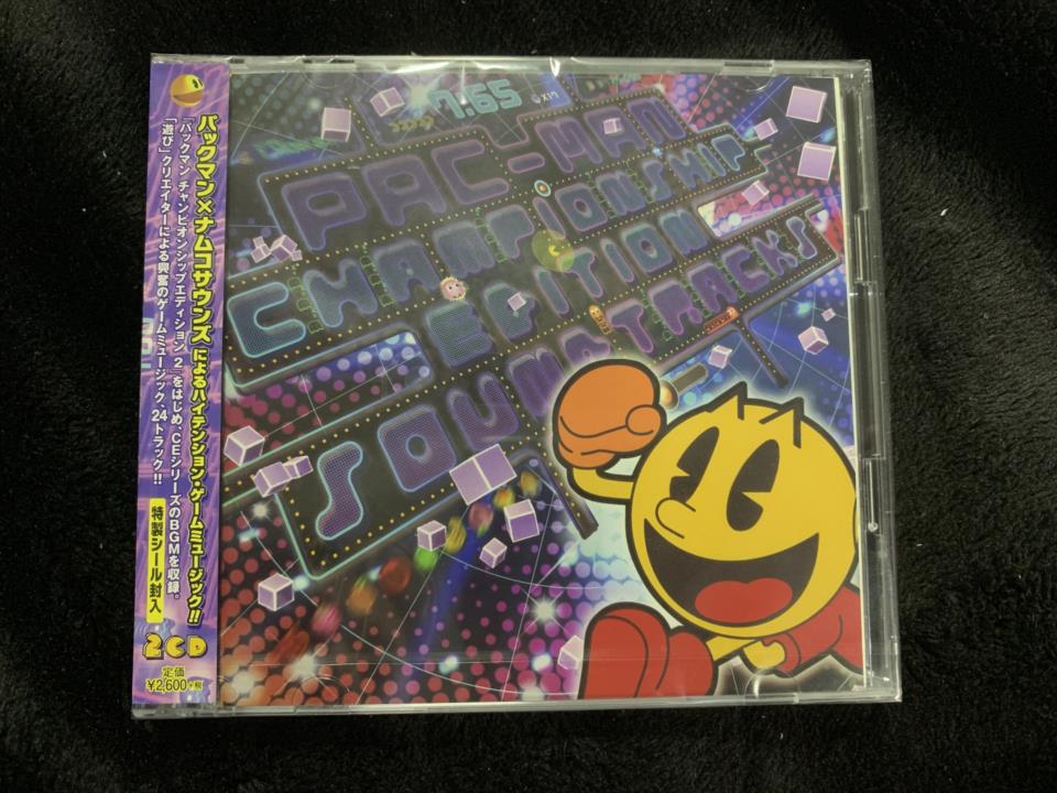 PAC-MAN CHAMPIONSHIP EDITION SOUNDTRACKS (Japan)