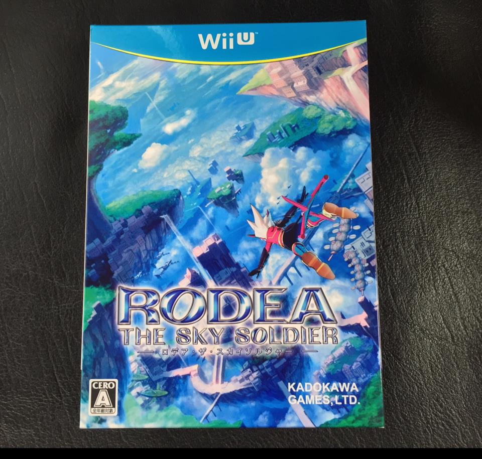 RODEA THE SKY SOLDIER Limited Edition (Japan) by PROPE/KADOKAWA GAMES