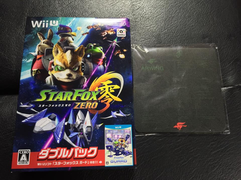 STARFOX ZERO Double Pack Amazon.co.jp Limited Edition (Japan) by Nintendo/PLATINUM GAMES