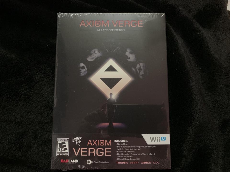 AXIOM VERGE MULTIVERSE EDITION (US) by THOMAS HAPP GAMES/BLITWORKS