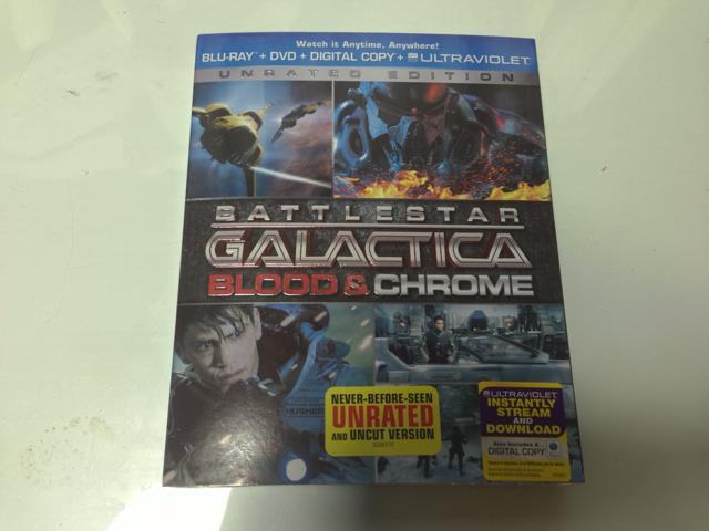 BATTLESTAR GALACTICA: BLOOD & CHROME (US)