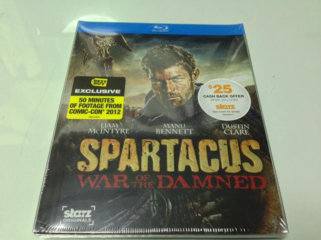 SPARTACUS: WAR OF THE DAMNED BEST BUY Version (US)