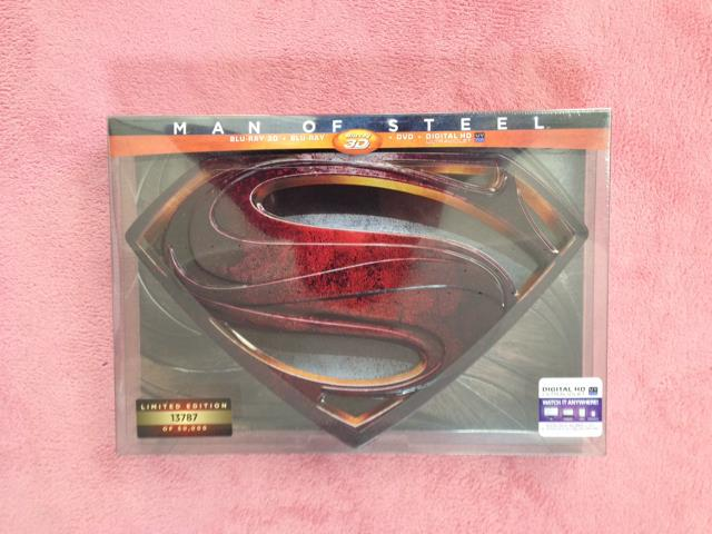 MAN OF STEEL LIMITED EDITION (US)