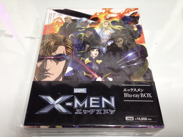 X-MEN Blu-ray BOX (Japan)
