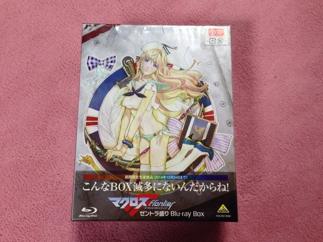 MACROSS Frontier Blu-ray Box (Japan)