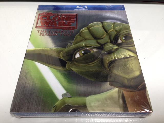 STAR WARS: THE CLONE WARS THE COMPLETE SEASON 2 (US)