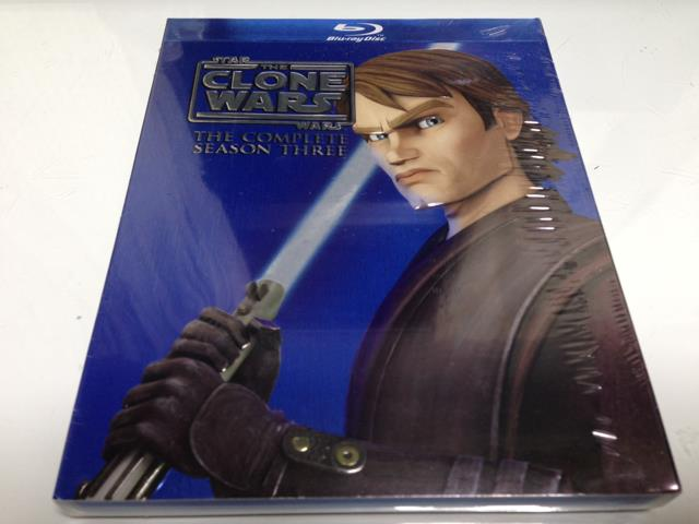 STAR WARS: THE CLONE WARS THE COMPLETE SEASON 3 (US)