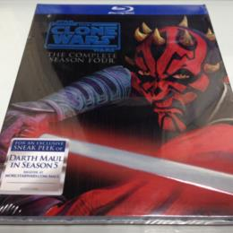 STAR WARS: THE CLONE WARS THE COMPLETE SEASON 4 (US)