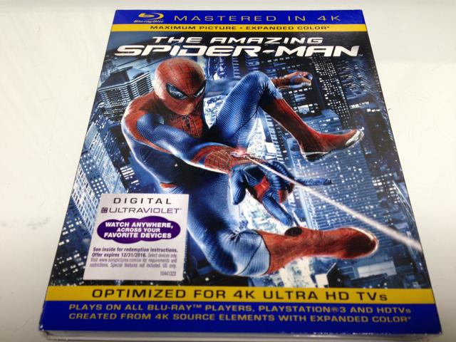 THE AMAZING SPIDER-MAN 4K (US)
