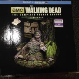 THE WALKING DEAD THE COMPLETE 4TH SEASON LIMITED EDITION