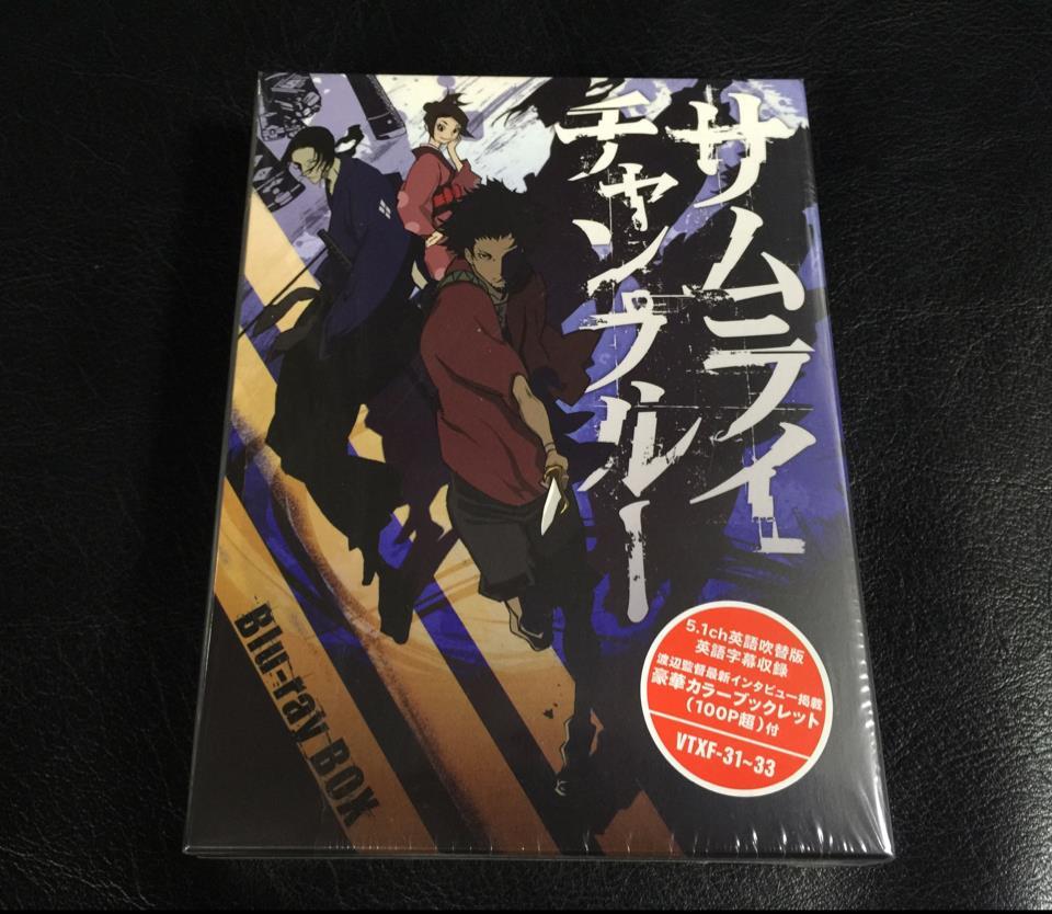 Samurai Champloo Blu-Ray BOX (Japan)