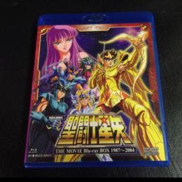SAINT SEIYA THE MOVIE Blu-ray BOX 1987-2004 (Japan)