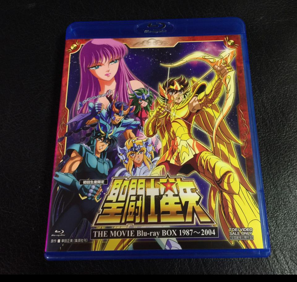 SAINT SEIYA THE MOVIE Blu-ray BOX 1987-2004 (Japan)