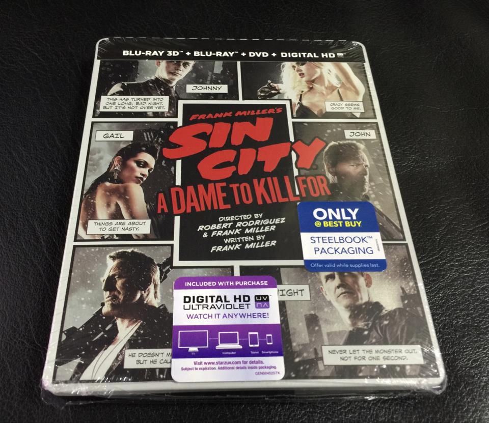 SIN CITY: A DAME TO KILL FOR (US)