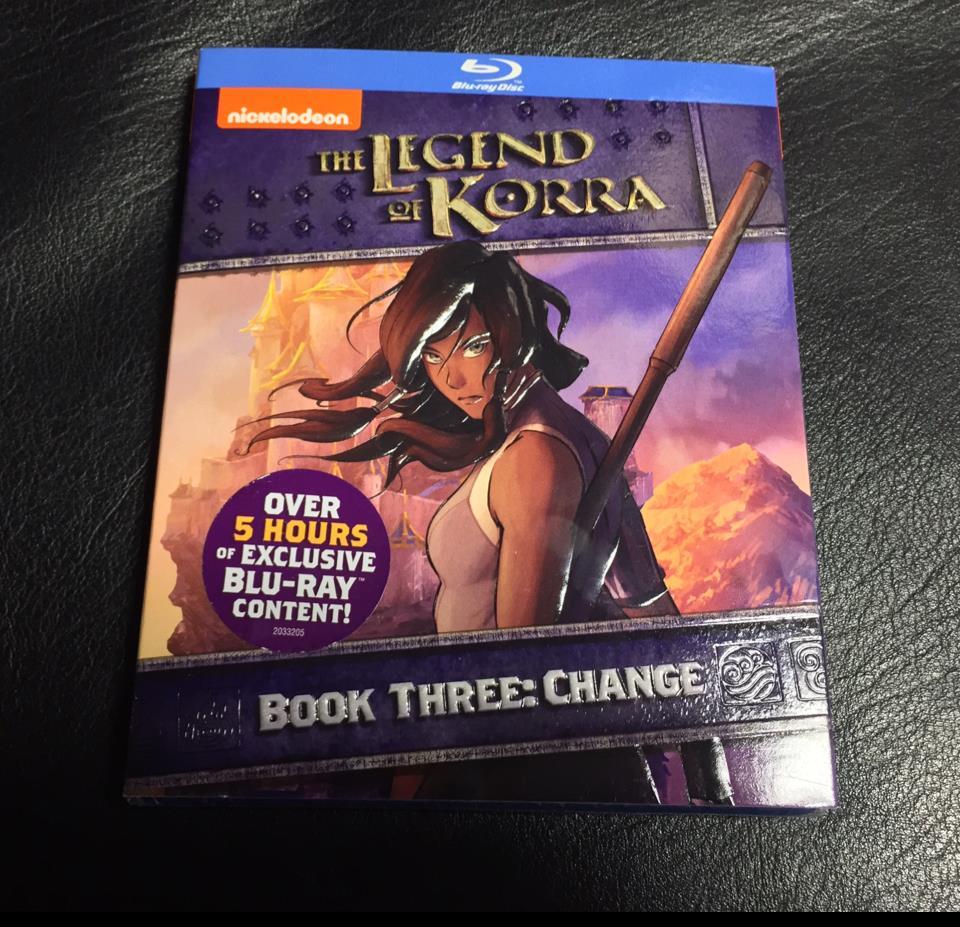 THE LEGEND OF KORRA BOOK 3 (US)