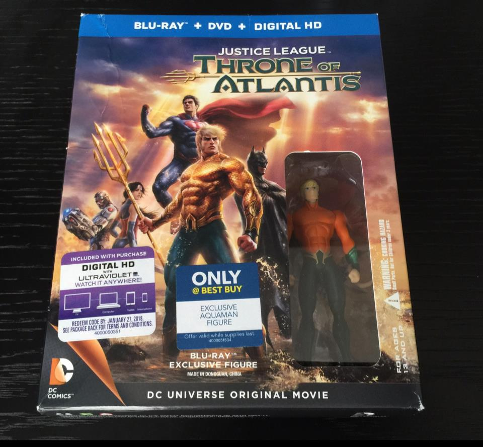 JUSTICE LEAGUE: THRONE OF ATLANTIS (US)