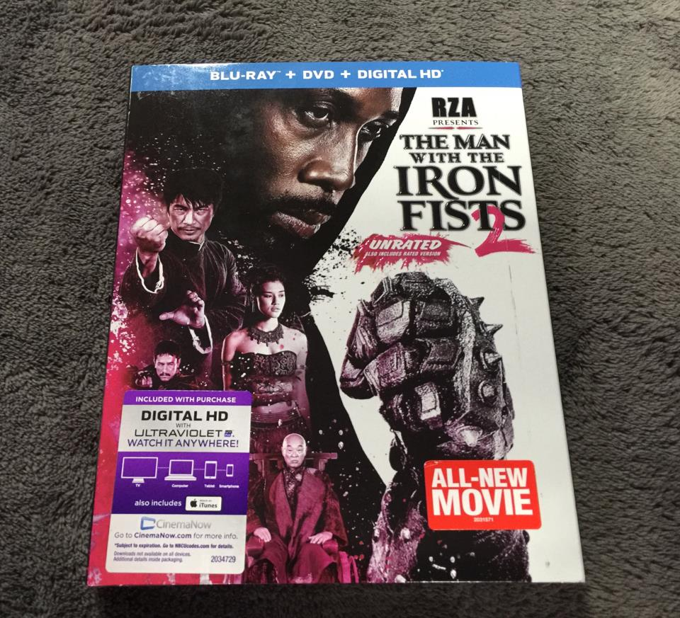 THE MAN WITH THE IRON FISTS 2 (US)