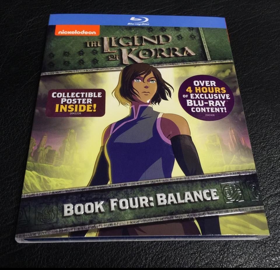 THE LEGEND OF KORRA BOOK 4 (US)