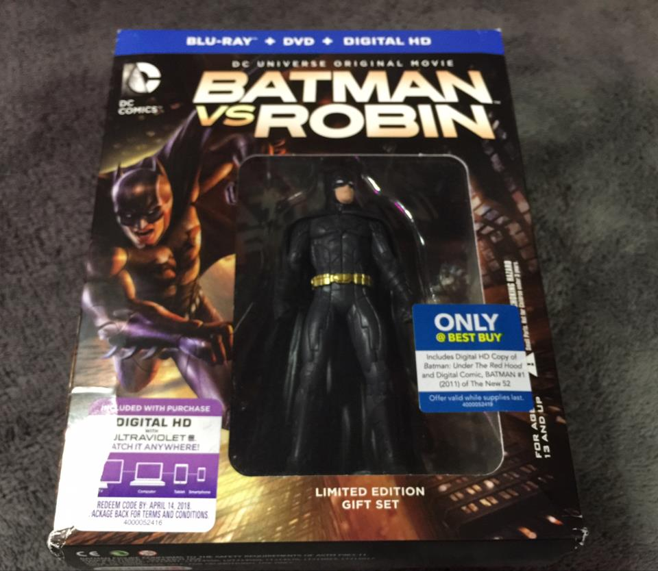 BATMAN VS ROBIN LIMITED EDITION GIFT SET (US)