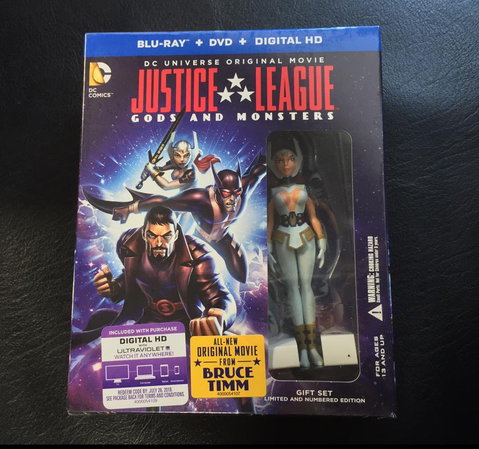 JUSTICE LEAGUE: GODS AND MONSTERS GIFT SET (US)