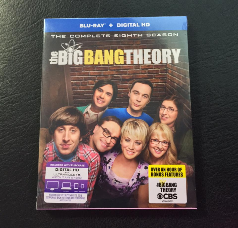 the BiG BANG THEORY THE COMPLETE 8TH SEASON (US)
