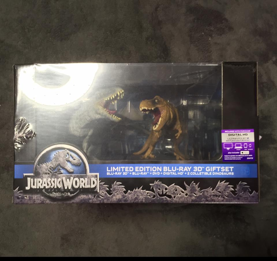 JURASSIC WORLD LIMITED EDITION BLU-RAY 3D GIFTSET (US)