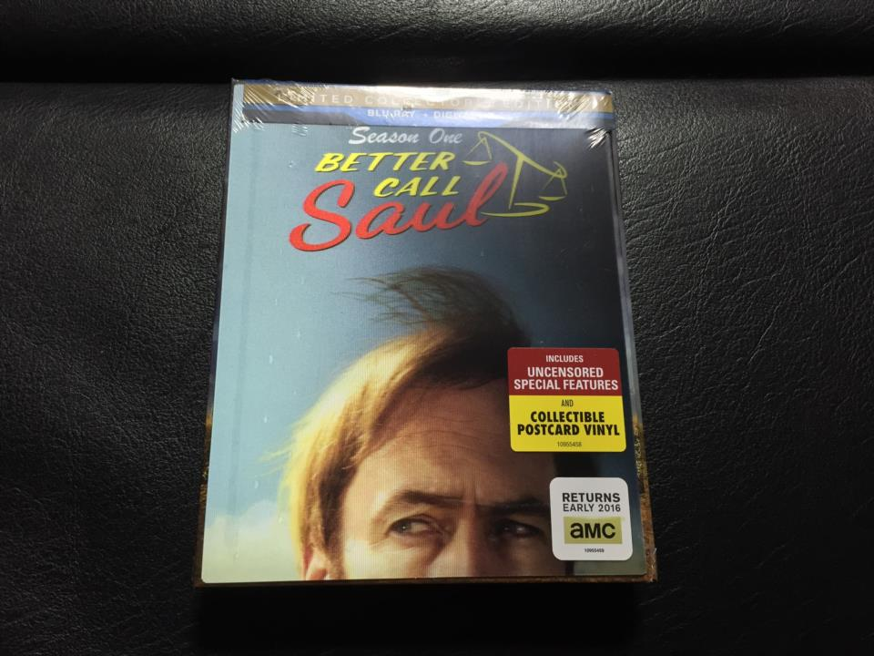 BETTER CALL Saul Season 1 LIMITED COLLECTOR'S EDITION (US)