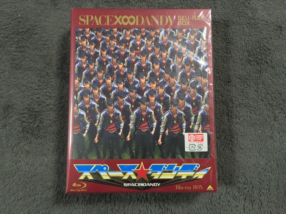 SPACE DANDY Blu-ray BOX (Japan)