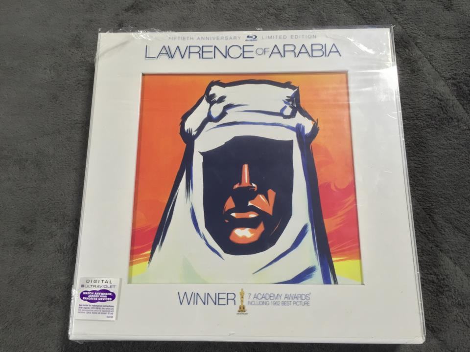 LAWRENCE OF ARABIA FIFTIETH ANNIVERSARY LIMITED EDITION (US)