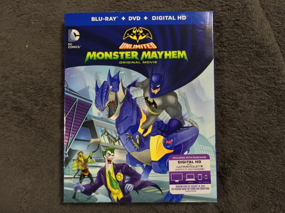 BATMAN UNLIMITED: MONSTER MAYHEM (US)